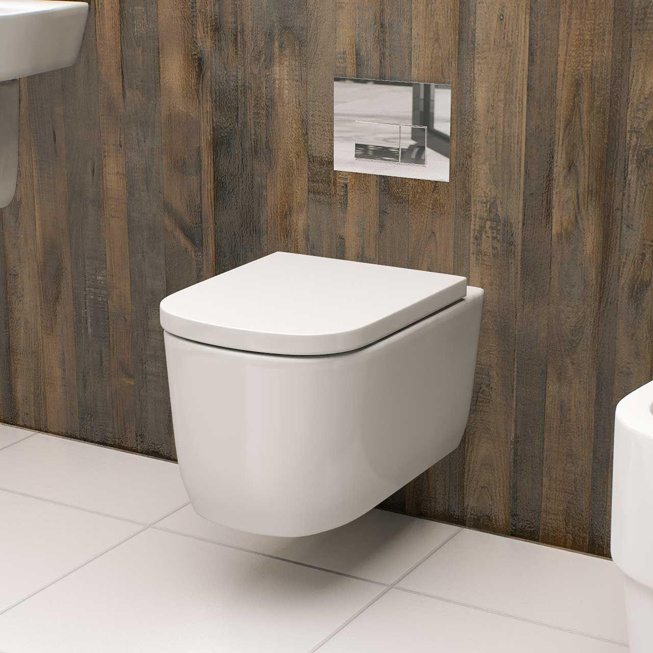 Galata Wall Hung Toilet With Slow Close