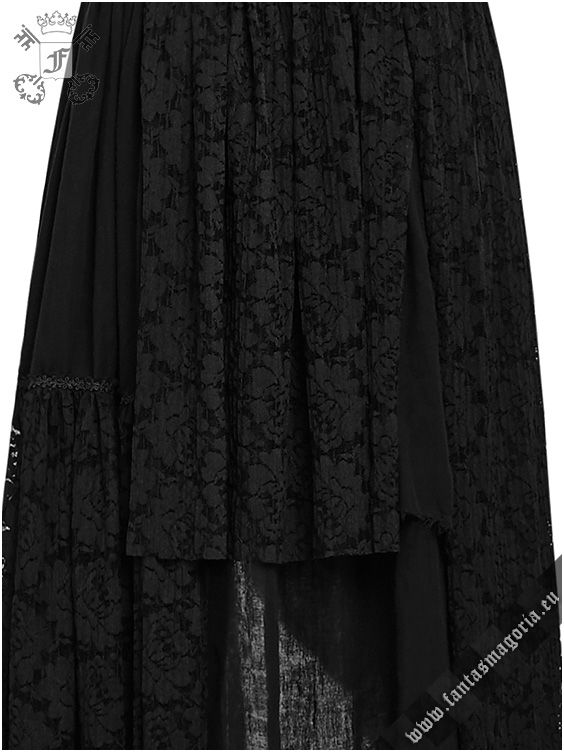 Black Gypsy -Bohemian style dress by Punk Rave. Long layered lace Gothic Boho style maxi dress Q-291 | Gothic, Steampunk, Metal, Punk, Lolita, Fetish fashion style e-shop. Punk Rave, RQ-BL, Fantasmagoria clothing brands