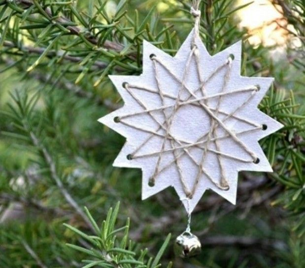 Estrellas de Navidad de cartón: Manualidades para niños | Estrelles ...
