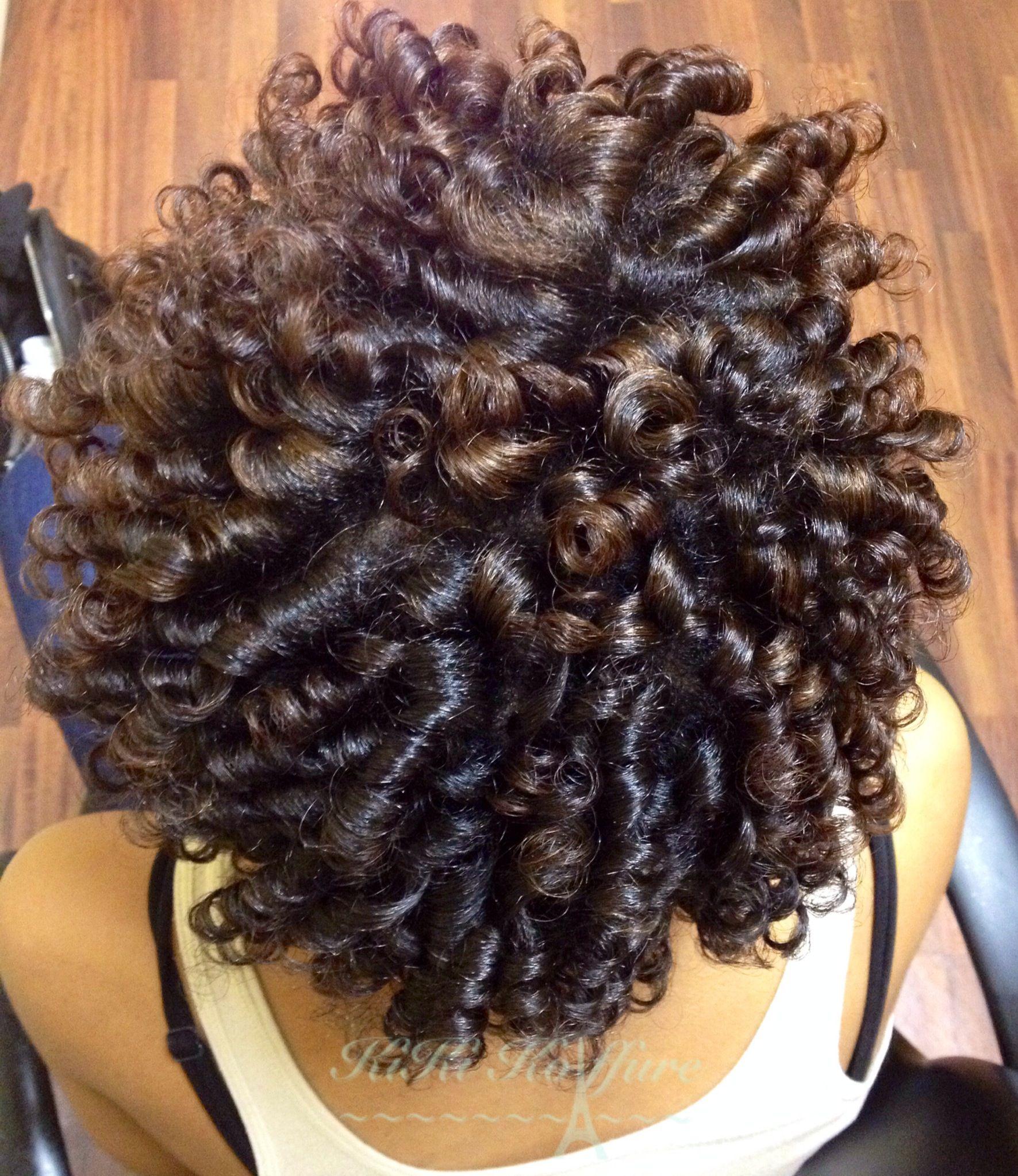 Perm rod curls!