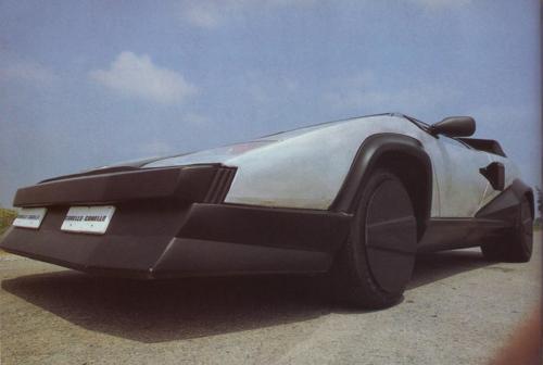 1987 Lamborghini Countach Evoluzione One Ex Experimental Prototype