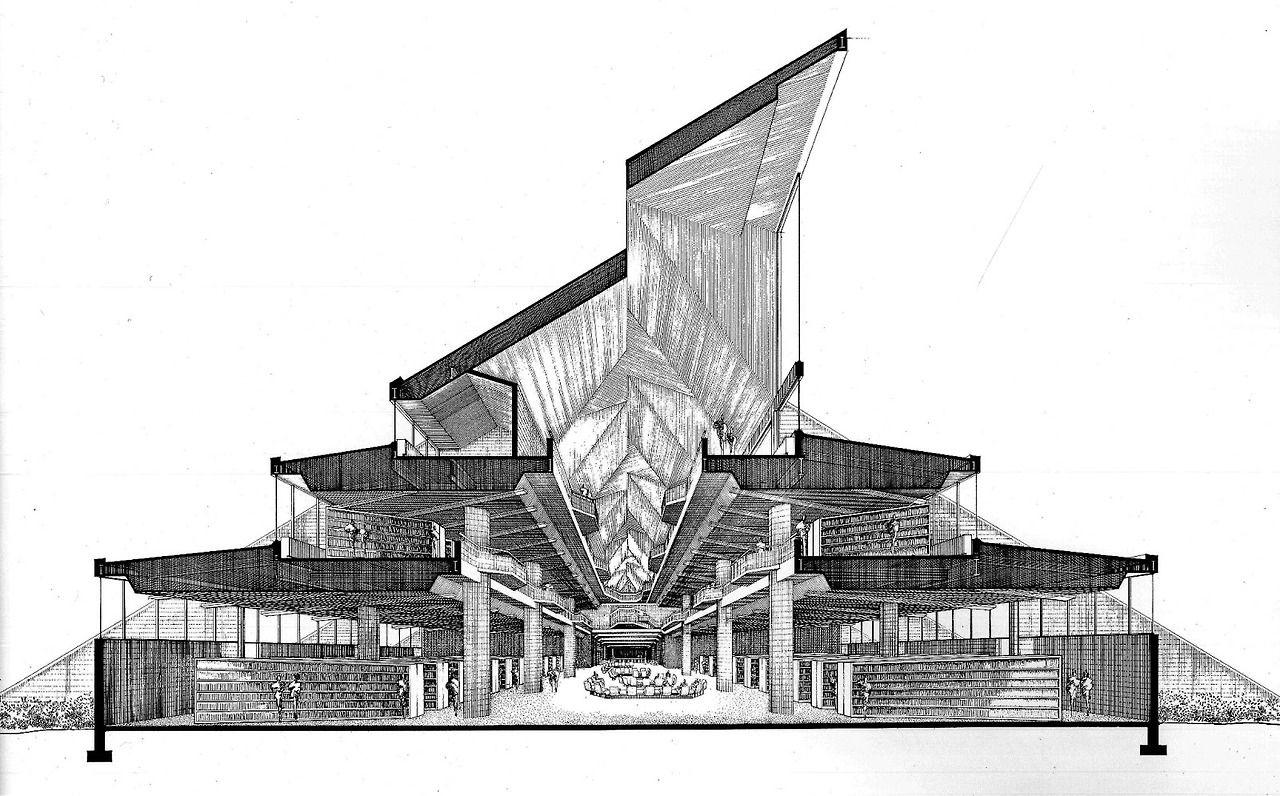 Niagara Falls Library, Paul Rudolph