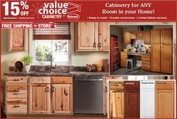 Value Choice Cabinetry by Schrock Cabinetry 15% Off from