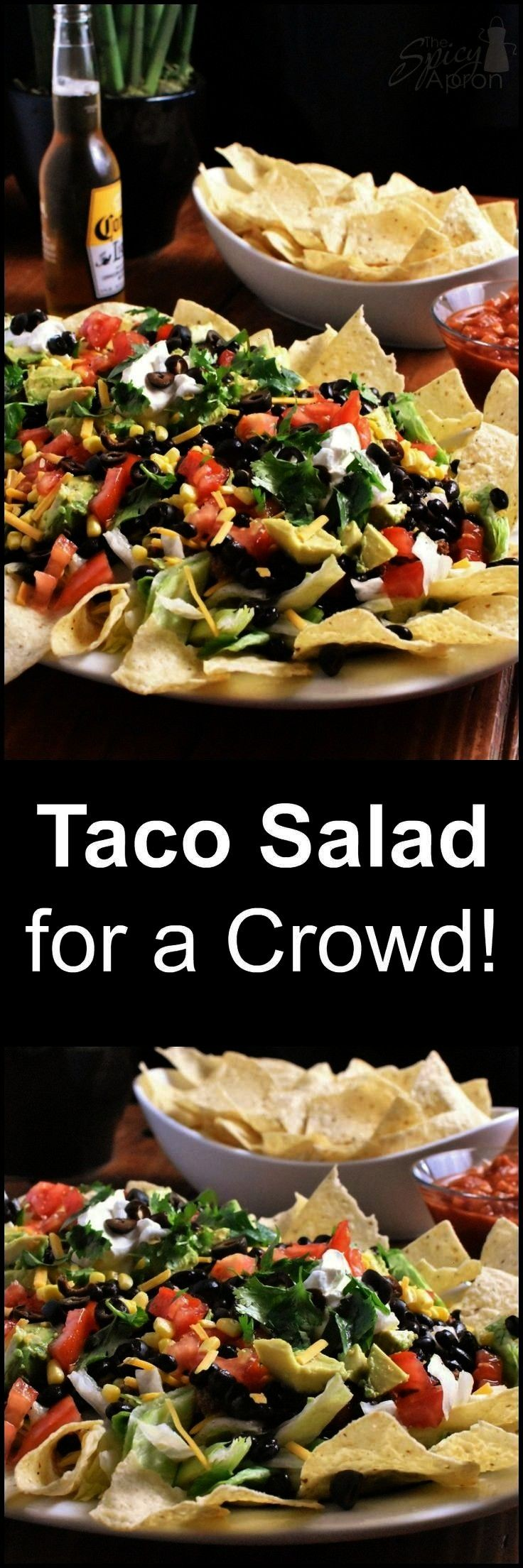 need to feed a crowd in a hurry! This Beefy Taco Salad does the trick! ... When you need to feed a