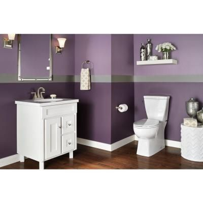 Delta Riosa Piece GPF Single Flush Elongated Toilet In White - Bathroom colors home depot