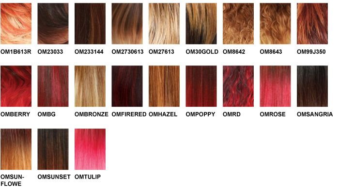Freetress Color Charts Hair Color Chart Freetress Color Chart