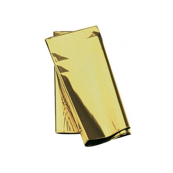 Gold Metallic Tissue Paper Gift Wrap Metallic Foil Paper Gifts Balloon Tassel