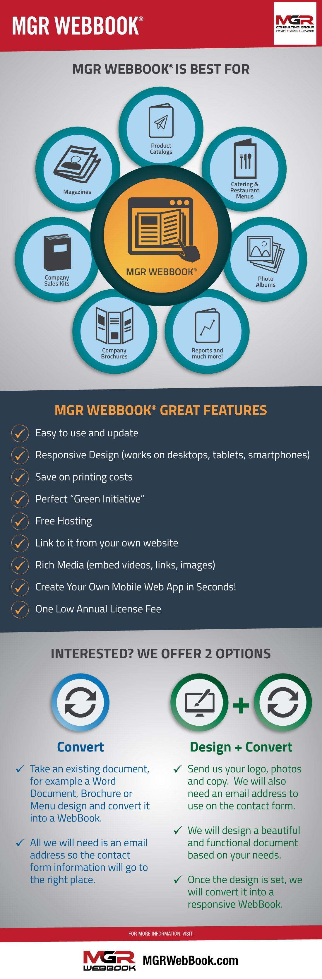 Wondering about our MGR WebBooks? Here's everything you need to know to get yours: