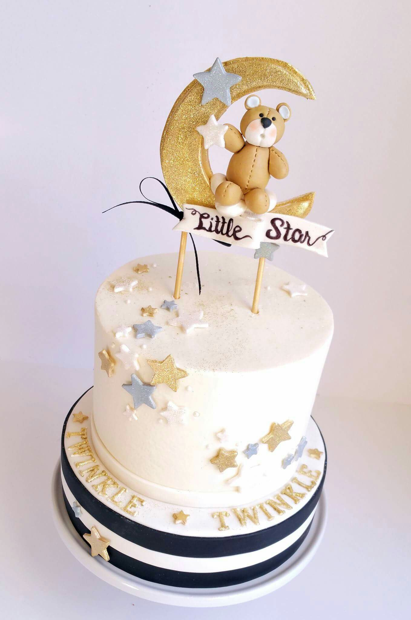 Sugarberry Designs In Grand Rapids MI Twinkle Little Star Baby Shower Cake