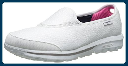 speziell für Schuh im Angebot erstklassige Qualität Skechers Damen GO Walk Aspire Sneakers, Weiß (Wht), 36.5 EU ...