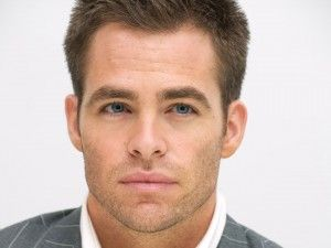 This version of Chris Pine is the inspiration for my hero Tom Calvert.
