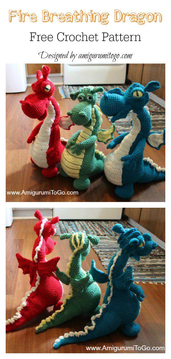 Amigurumi Baby Dragon Crochet Pattern Video Tutorial | Crochet ... | 1260x600