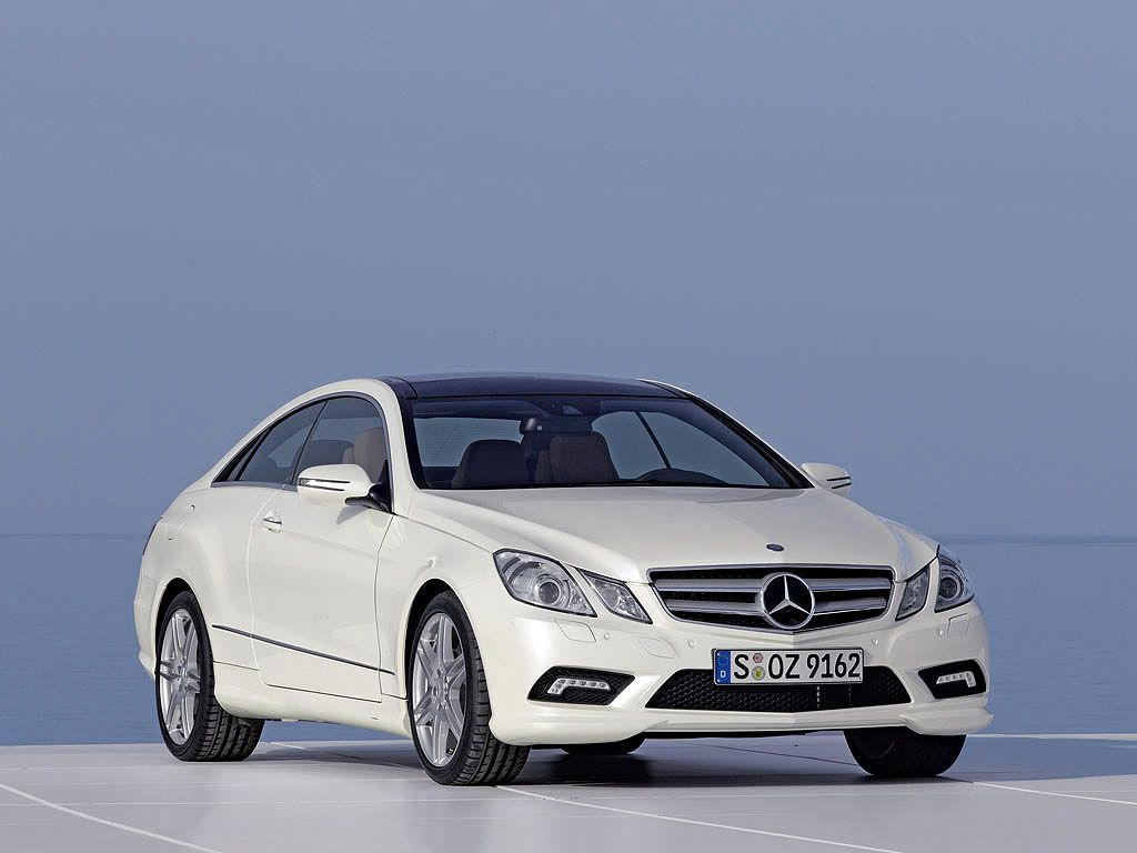 Mercedes benz clase e coupe 2012
