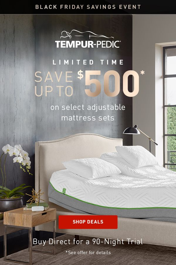 It S Our Biggest Black Friday Event Ever With Up To 500 Off Select Mattress Sets And More Shop Our Best Bla Bedroom Furniture Furniture Deals Mattress Sets