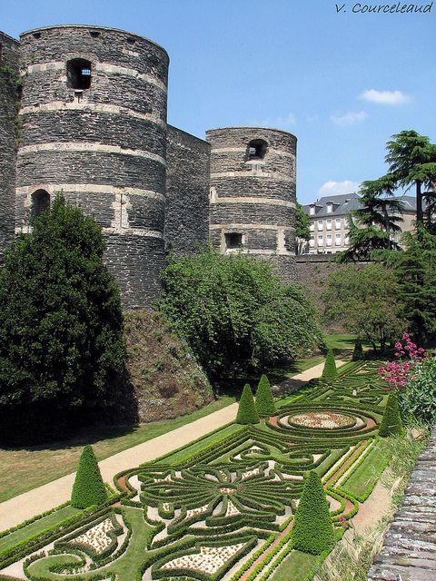 Chateau D Angers French Castles Beautiful Castles Famous Castles