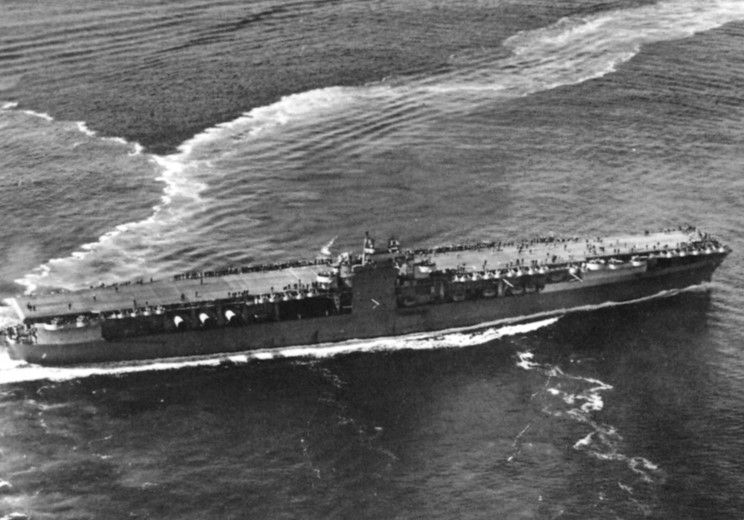1942: USS Ranger CV-4 in the Atlantic during Operation Torch