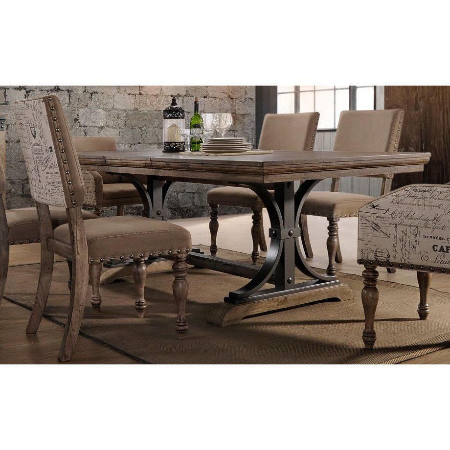 Kitchen Table Sets Rc Willey Trestle Dining Tables Dining Table Kitchen Table Settings