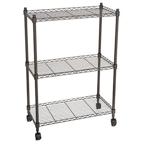 Homdox 3-Tire Heavy Duty Shelves Storage Organizer Wire S... http ...