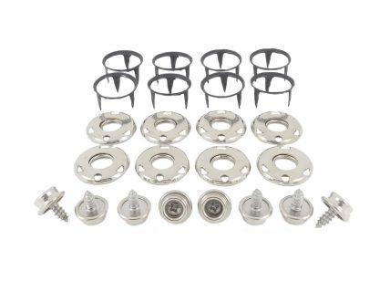 Press Stud Fastener Durable Blister Packs Press Studs Fasteners Stud Earrings