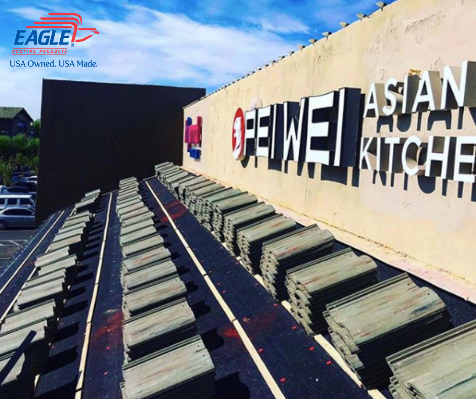 Shoutout To Crosscountryroofing In Phoenix Az Who Recently Featured An Eagle Commercial Tile Roof Replacement We Ca In 2020 Commercial Tile Concrete Roof Tiles Roof