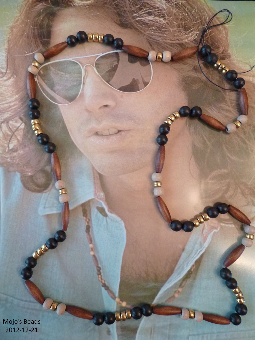 9c760444ae6b4 This is an exact replica of a love bead necklace that Jim Morrison ...
