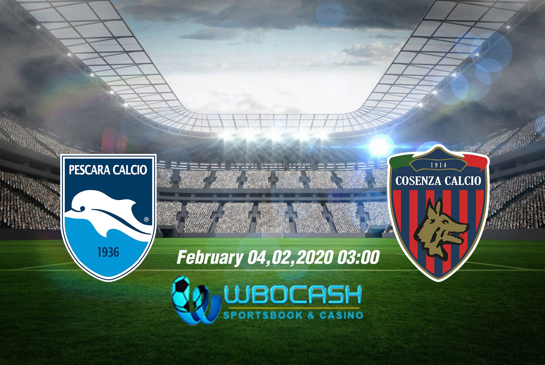 Prediksi Skor Bola Pescara Vs Cosenza 4 February 2020 Pelayan Asia Poker