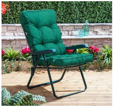 Alfresia Traditional Luxury Garden Recliner Cushion in Green & Alfresia Traditional Luxury Garden Recliner Cushion in Green ... islam-shia.org