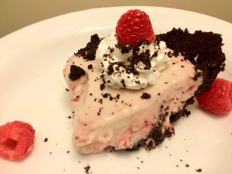 raspberry cream pie (Native Foods)