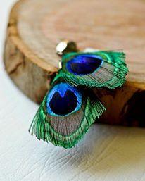 Joy Jewellery - peacock feathers