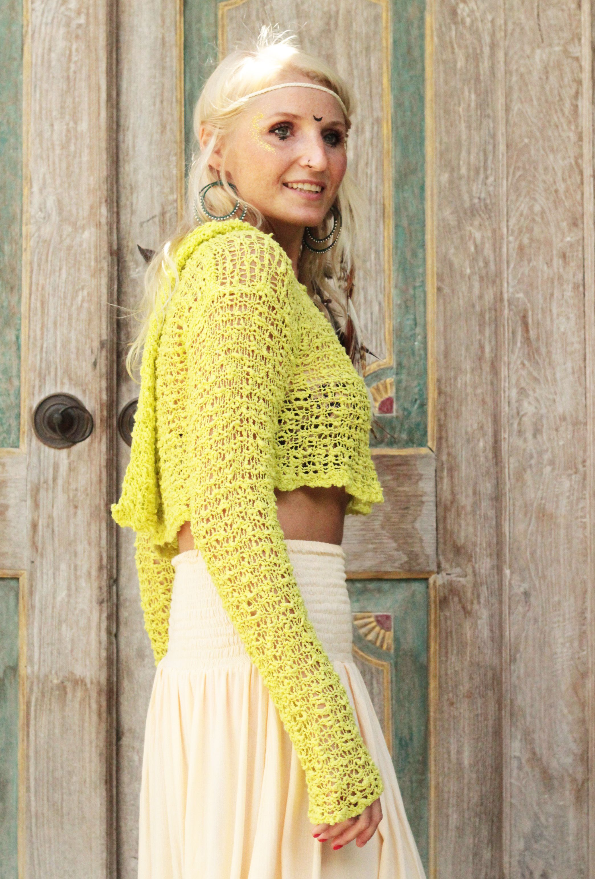 festival cothing, crochet, hoody, summer sweater, goa