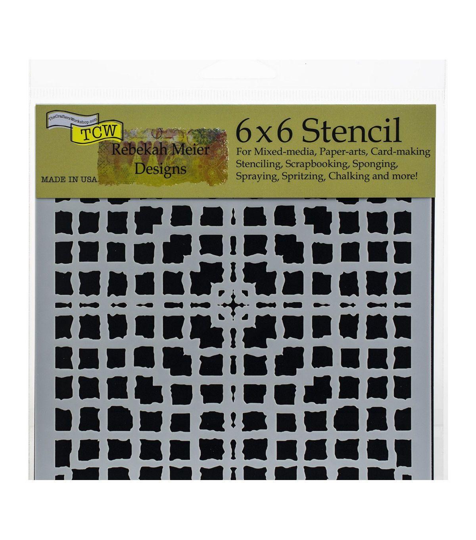 The Crafter's Rebekah Meier 6''x6'' Stencil Mesh