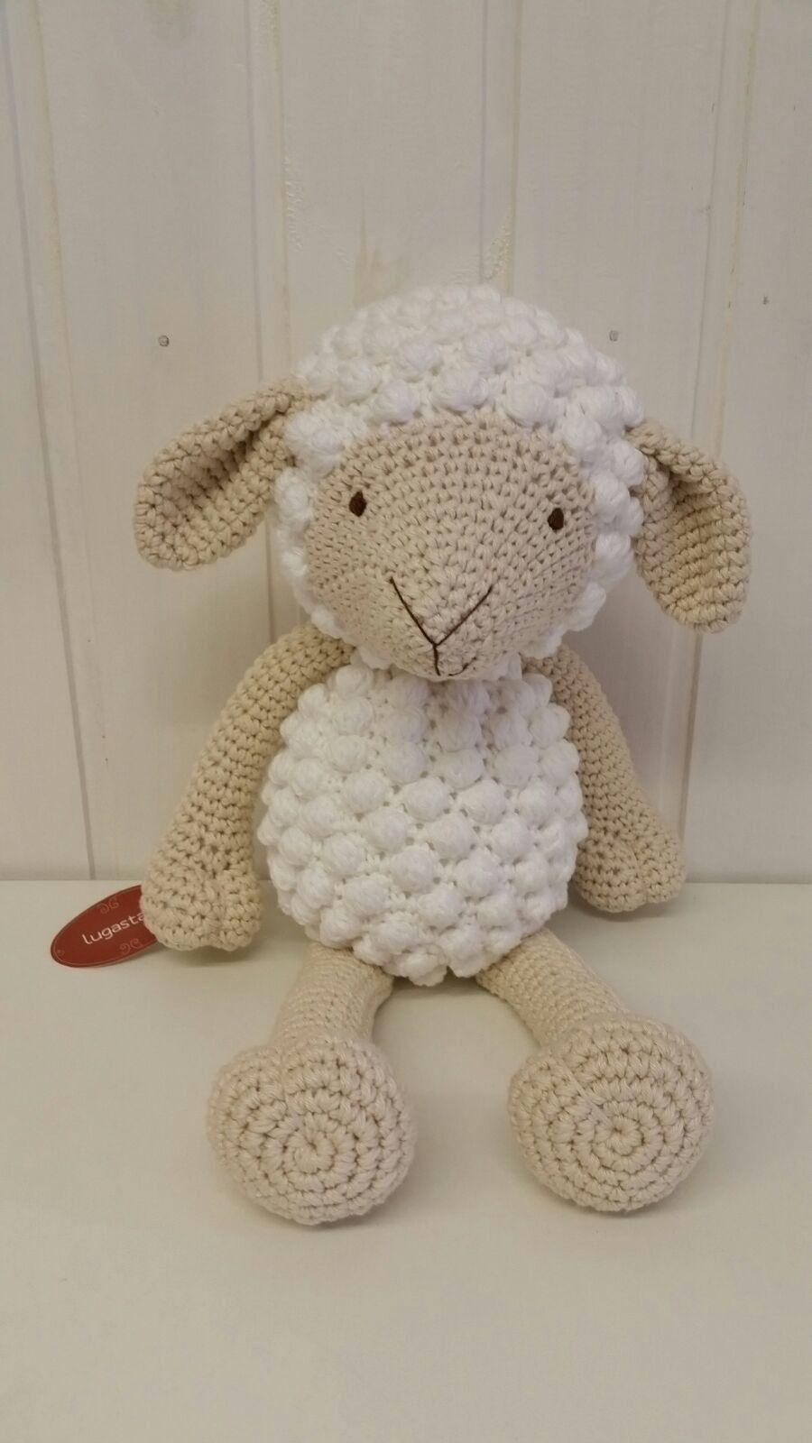 Ovelha em crochê - tamanho G
