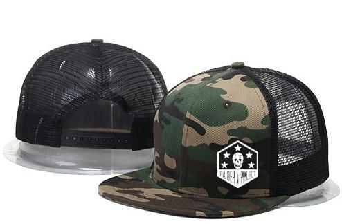 Raider Project custom embroidered CAMO trucker snapback. 100% cotton Twill  front panels 2d8e7dd43057