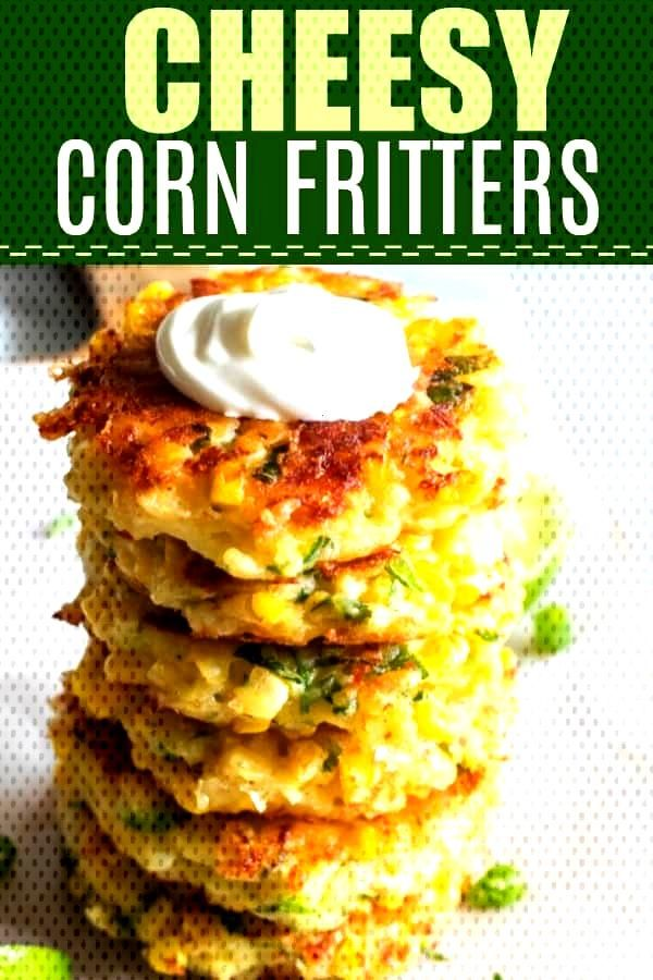 Loaded with Flavor! These easy to make fritters are loaded up with fresh corn, flavor, and most imp
