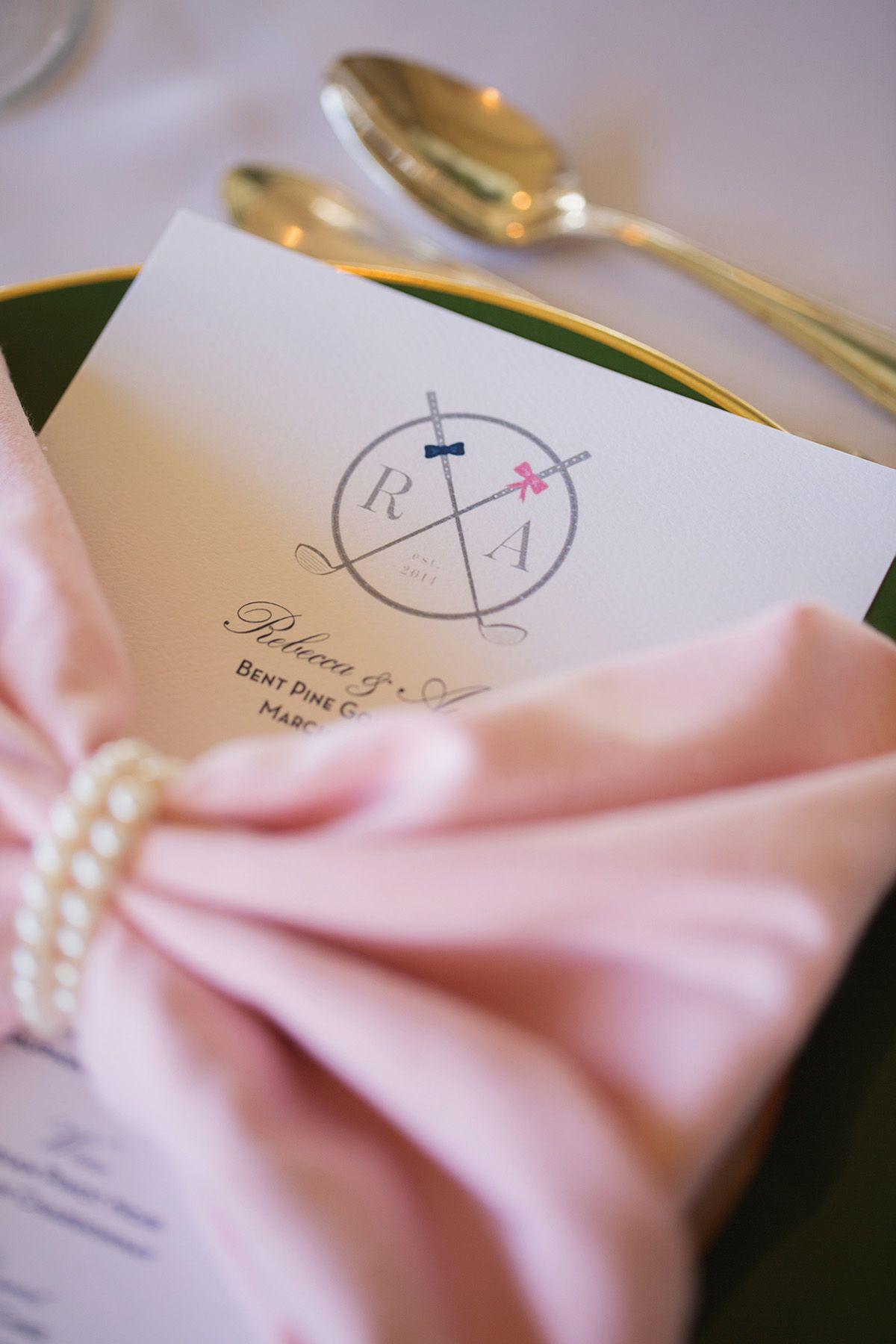 Preppy Golf Club Wedding: Rebecca & Austin in Vero Beach | Golf ...