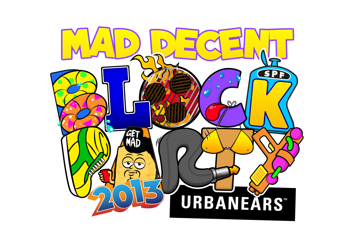 Mad decent block party thirteen city tour across north america mad decent block party thirteen city tour across north america malvernweather Choice Image