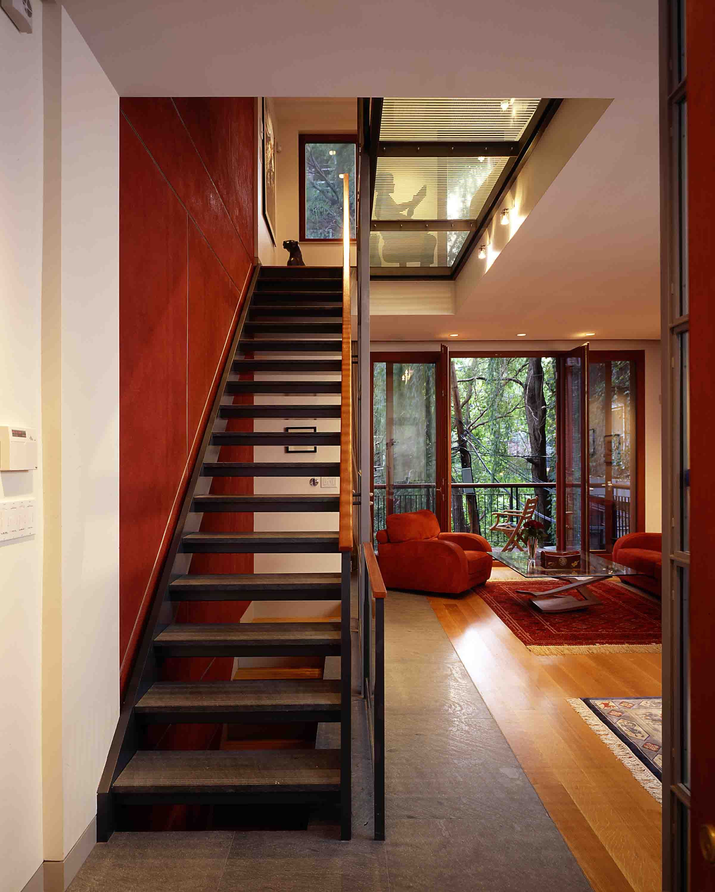 Modern Row House Plans: Peter Vaderwarker Photography // The