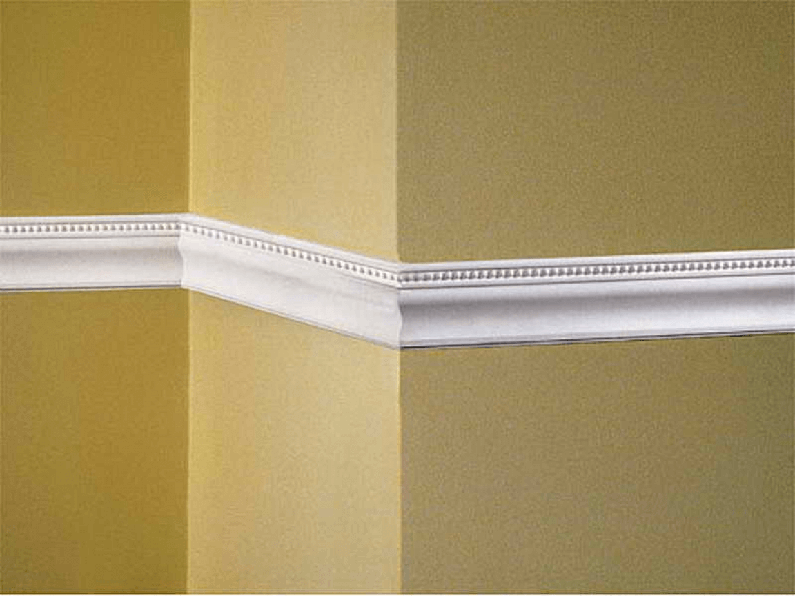 Bead and Pearl Wall Molding | Dining Room | Pinterest | Wall molding ...