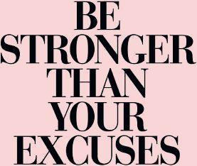 Be stronger than your excusesBy Brett Wilson - #Brett #ExcusesBy #motivation # ...  - Fitness - #Bre...