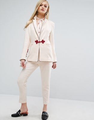 Sister Jane Pant Co-Ord With Crochet Fastenings