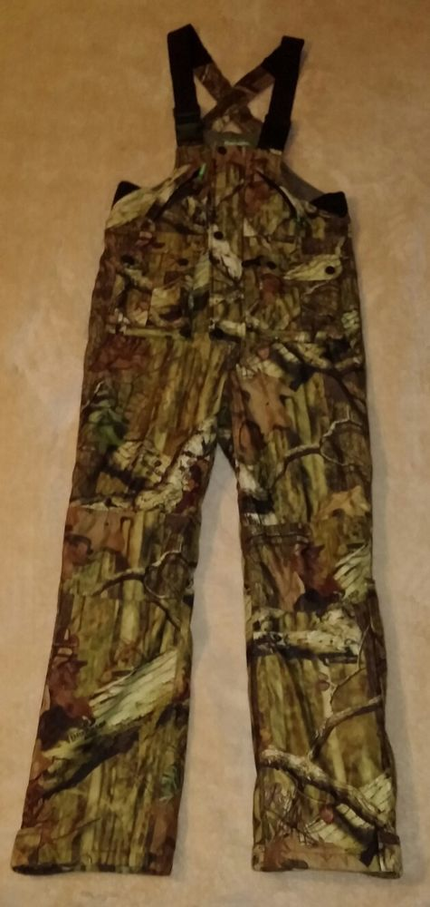 0c76260a2bbac Remington Youth 10-12 Bib Overalls Camo Camouflage Insulated Hunting  Realtree #Remington