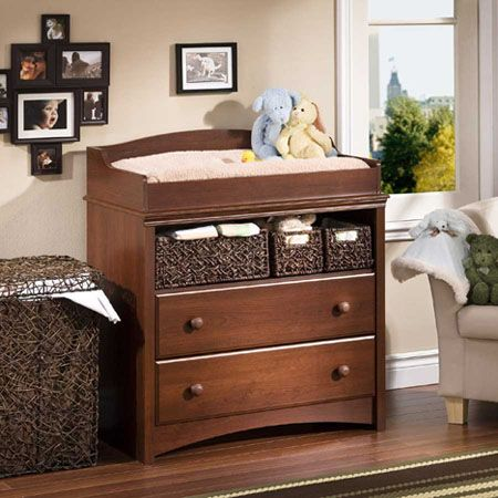 beautiful sweet morning baby changing table from south shore