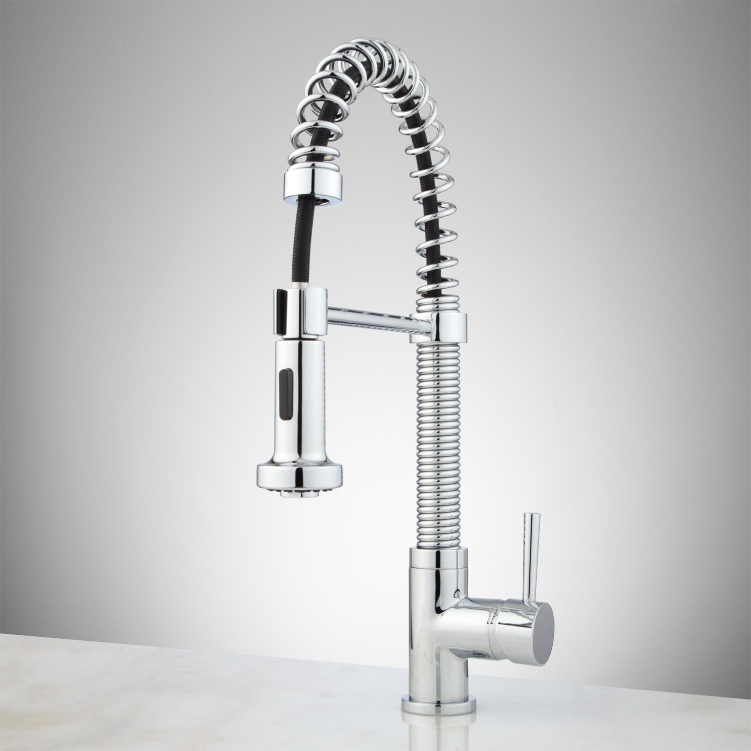 Rachel Pull Down Kitchen Faucet With Spring Spout Single Hole Faucets