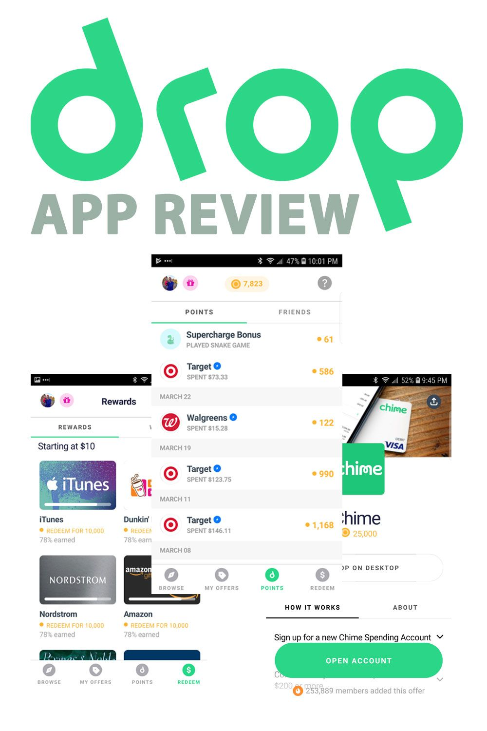 Drop App Review: Earn Gift Cards While Shopping | Plethora of