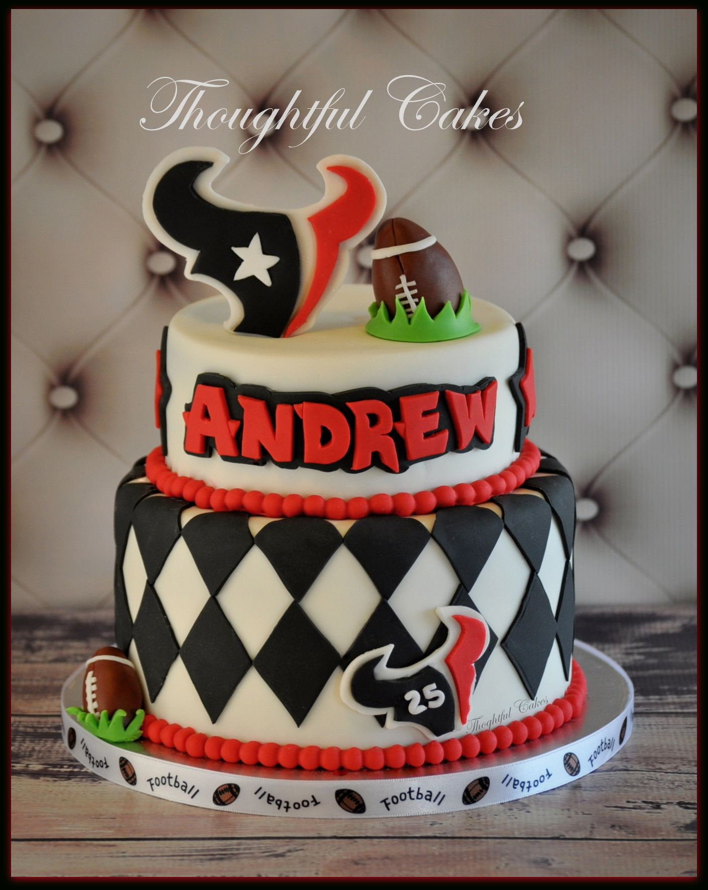Houston Texans Theme Cake