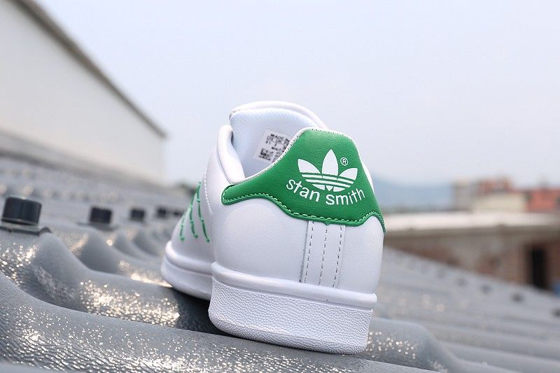 Adidas Stan Smith White Green Leather Shoes for Men | Adidas