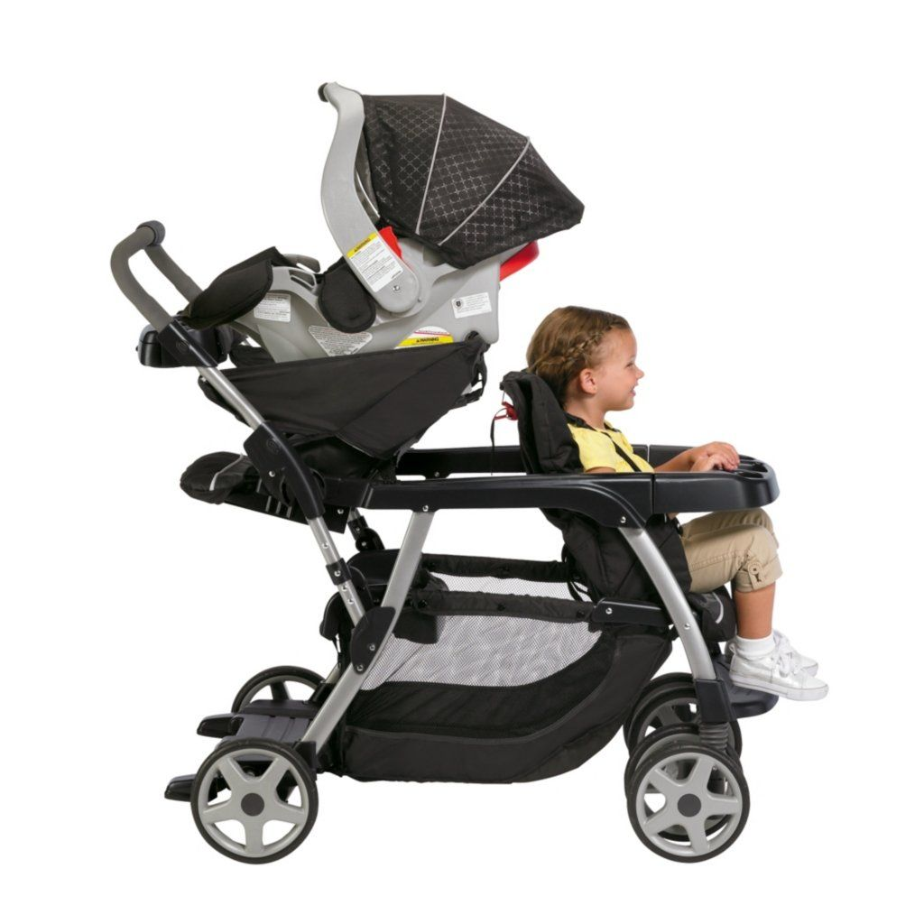 graco toddler and infant double stroller | This double stroller is