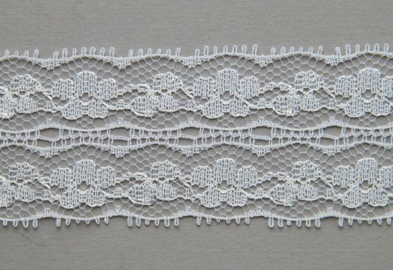 Vintage Milbro Laces NYC Cream Ivory Delicate by OneGirlsVintage, $10.00
