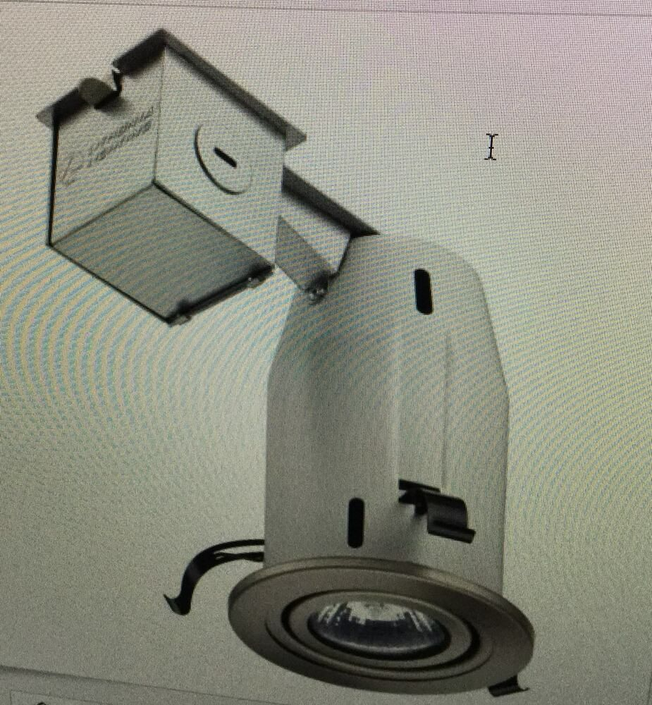 Lithonia Lighting LK4SQMW LED LPI M6 Square 4 Inch Kit with LED Lamp Included in
