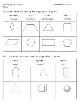 Use before/after teaching geometry unit. It covers the basic 2-d and ...